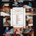 16. Volunteers Restoring Curtains in 2014
