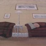 18. Living Room Scene of ukn origin--in storage
