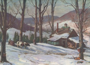 Hibbard, Late Sugaring, nr Jeffersonville ,VT 465websm