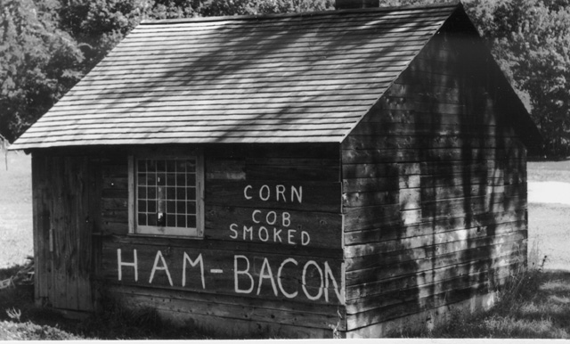 Lawrence Smoke Shed 1960s