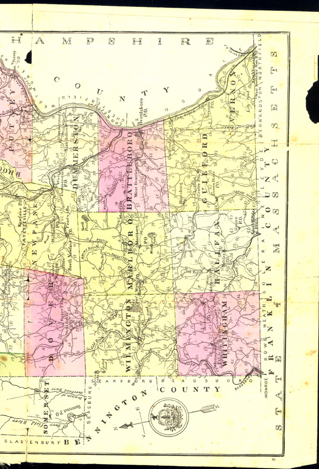 Childs Map Windham County