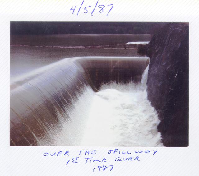 Dam Overflow 1987