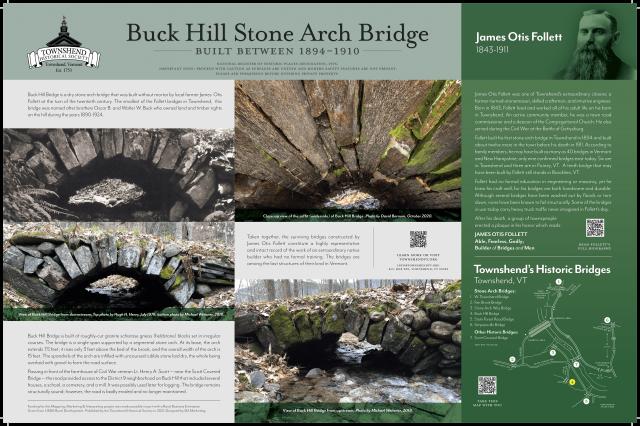 buck hill stone arch bridge