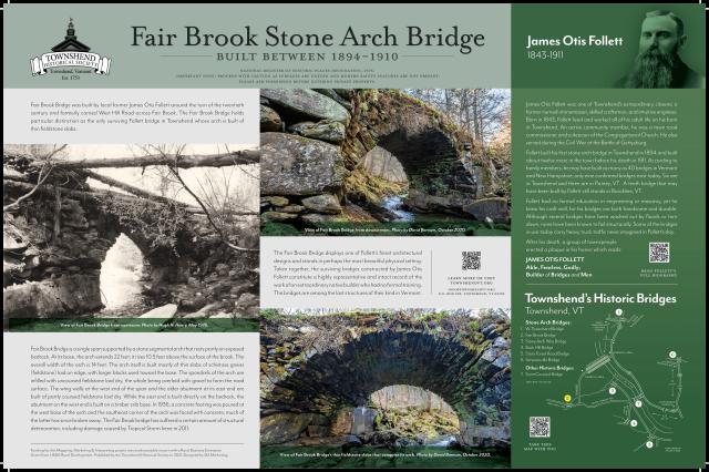 fair brook stone arch bridge